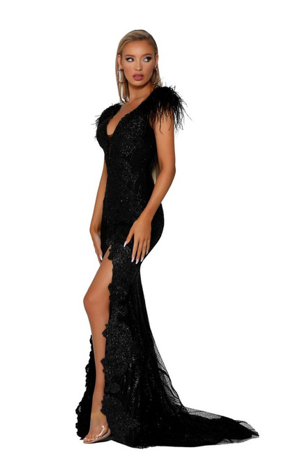 Style PS6702 Black by Portia & Scarlett from Lady Black Tie