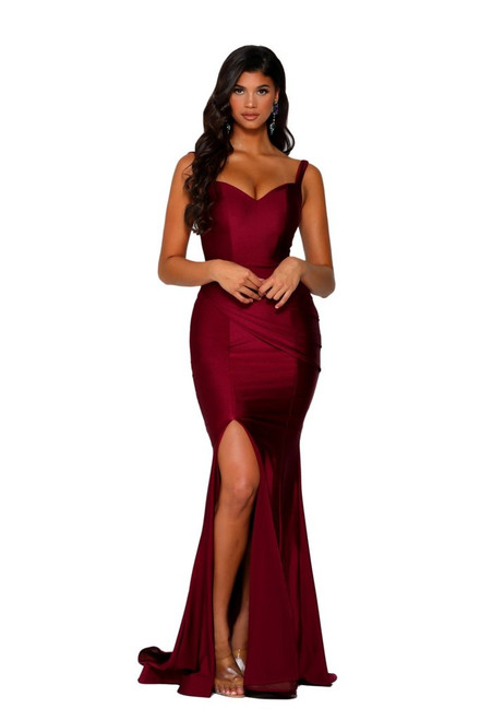 Style PS6339 Deep Red by Portia & Scarlett from Lady Black Tie