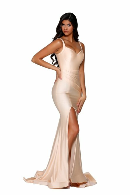 Style PS6339 Champagne by Portia & Scarlett from Lady Black Tie