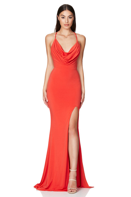 Harley Gown - TANGERINE, ORANGE - Nookie