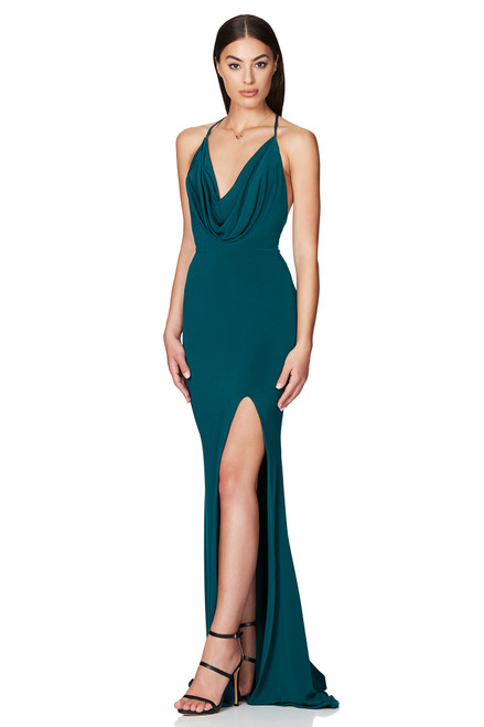 The Harley Gown - TEAL - Nookie.