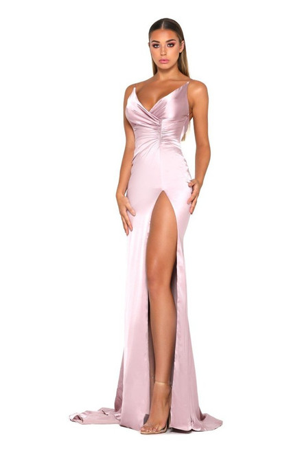 The Hugo Gown Mauve Pink by Portia & Scarlett from Lady Black Tie
