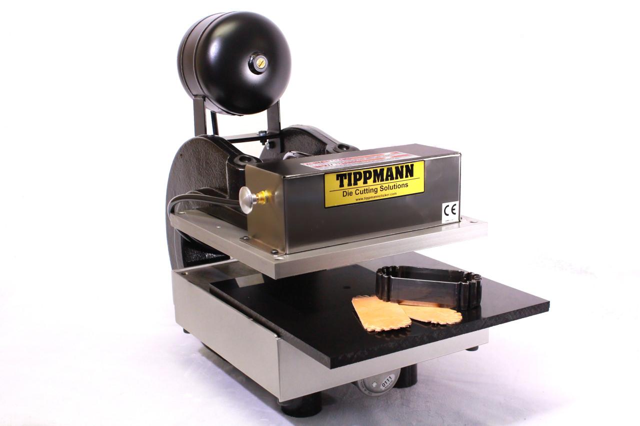 Tippmann Clicker 700 Die Cut Press W/ Air Accumulator & Clicker Stand