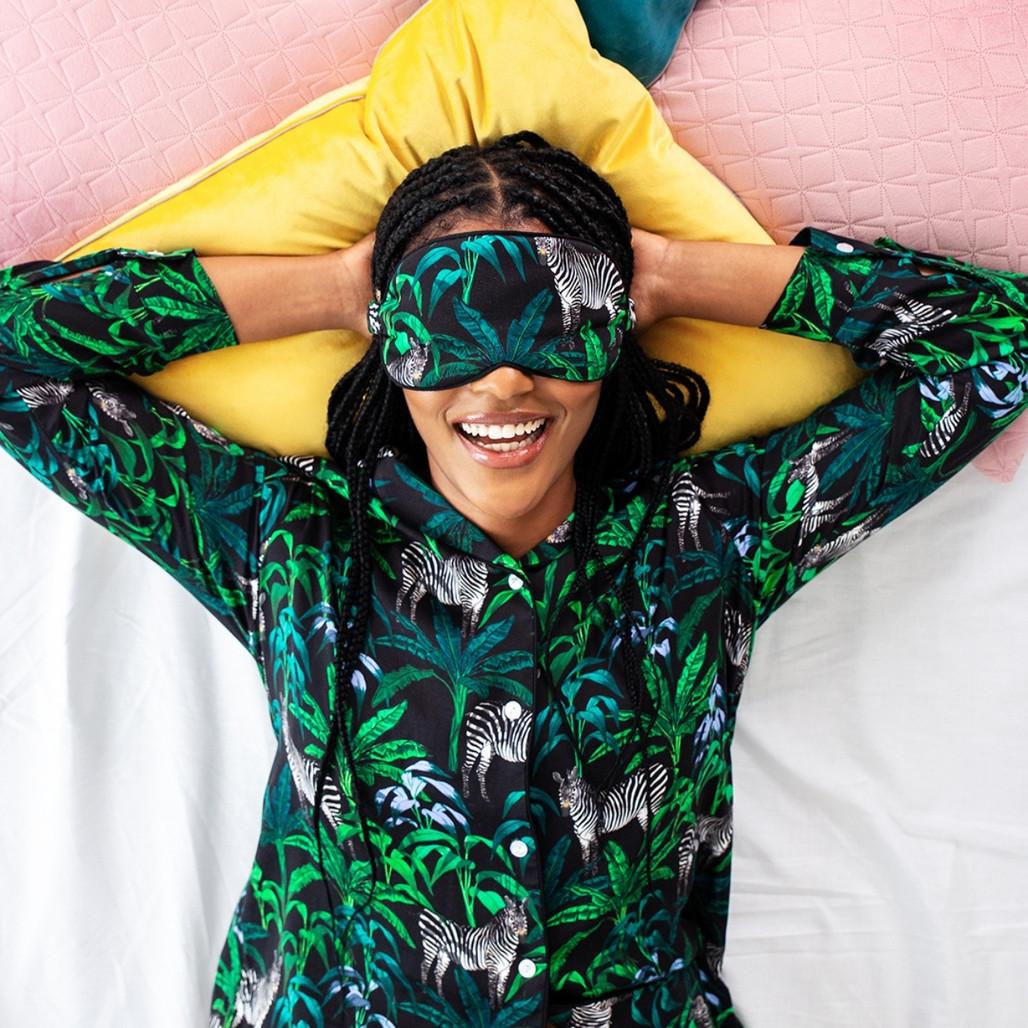 Jungle Bamboo Eye Mask