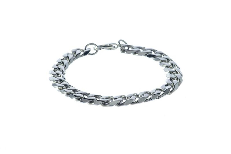 "SteelX 10MM Curb Bracelet 9"""