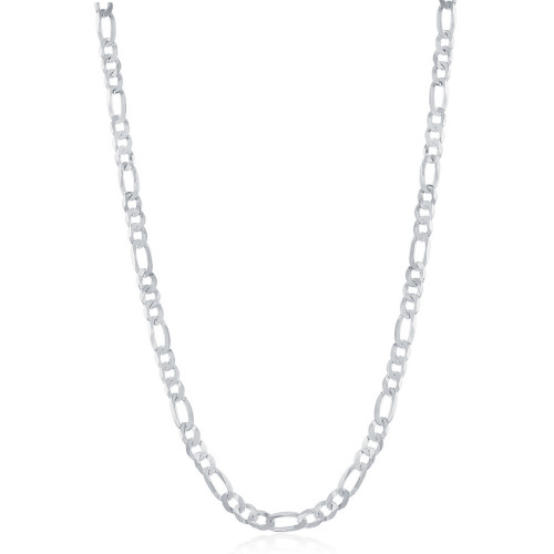 """Sterling Silver 20"""" 3.3 mm Figaro Chain"""