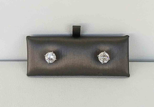 14K White Gold 0.50 DTW Diamond Studs