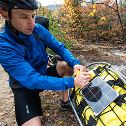 Solar Chargers for Bicycle Touring