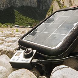 Solar GoPor Charger