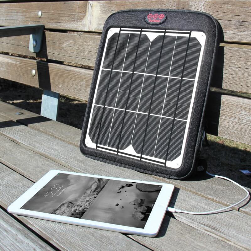 iPad Air solar charger