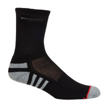 Mens One Size -Everyday Security Athletic Travel Pocket Socks - Black - Ankle