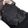 Mens Everyday Security Athletic Travel Pocket Socks - Black - Ankle