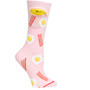 Bacon 'n Eggs, Pocket Socks, Womens