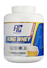 Ronnie Coleman King Whey Protein Powder - Vanilla Frosting, 5 Lbs