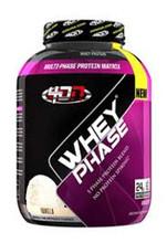 4 Dimension Nutrition Whey Phase Protein Powder - Vanilla, 5 Lbs