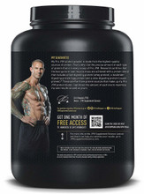 JYM PRO 4LB Chocolate Mousse Back