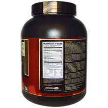 Optimum Nutrition 100% Whey Gold STD 5LB  Double Rich Chocolate supplement facts