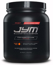 JYM Supplement Science Post Carb Mandarin Orange Powder, Pack of 30 Front
