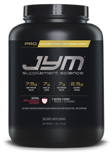 Pro Jym 4Lb White Chocolate Raspberry Front