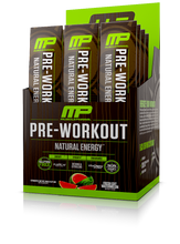Musclepharm All Natural Pre-Workout Fresh Cut Melon - 12 packs