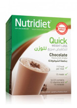 Nutridiet Quick Weight Loss Chocolate Flavoured Shake.