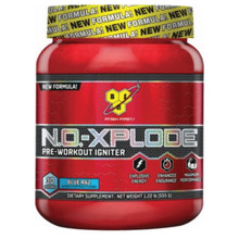 BSN N.O. Xplode Blue Raspberry - 30 Servings