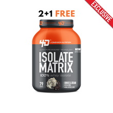 Isolate Matrix 5Lbs Cookies & Cream - 4D Nutrition