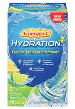Emergen-C Hydration 18 Packets Lemon-lime Twist Flavor