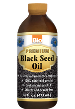 Bio Nutrition, Black Seed Oil 16Oz
