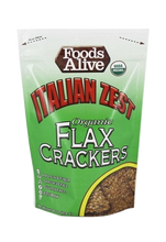 Food Alive, Italian Zest Flax Crack 4Oz
