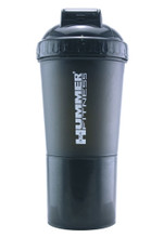 HUMMER USA Fitness Shaker Bottle Black