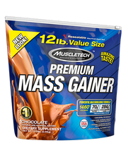 Muscle Tech, 100% Premium Mass Gainer - 12LB Chocolate