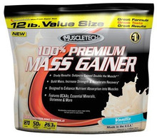 Muscle Tech, 100% Premium Mass Gainer - 12LB Vanilla (ITM01328)