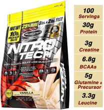 Nitro Tech Performance 10LB Vanilla by Muscletech
