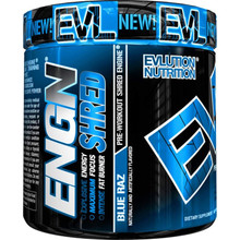 Evlution Nutrition ENGN SHRED Pre Workout 30SVG 231GMS BLUE RAZ