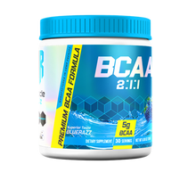 Muscle Rulz BCAA 2:1:1 30 Servings 195Gm, Blue Razz