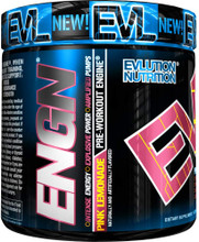 Evlution Nutrition ENGN Pink Lemonade Pre workout Engine, 30 Servings