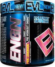 Evlution Nutrition ENGN Pink Lemonade Pre workout Engine, 30 Servings