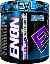 Evlution Nutrition ENGN Furious Grape Pre workout Engine, 30 Servings