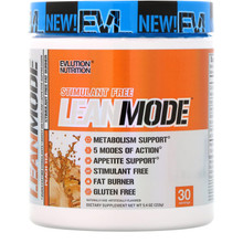 Evlution Nutrition Lean Mode Peach Tea 30 Servings