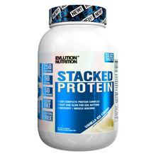 Evlution Nutrition Stacked Protein Natural 2 LB Protein Powder Vanilla Ice Cream