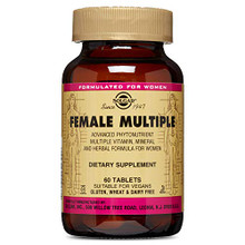 Solgar - Female Multiple Tablets, 60 Tablets