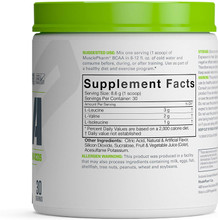 MusclePharm, BCAA Essentials, Post-Workout, Fruit Punch, 30 Servings
