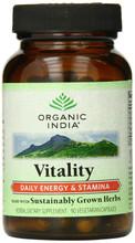 Organic India Vitality 90 Veg Caps