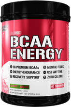 Evlution Nutrition BCAA Energy Pre Workout, Post Workout, Cherry Limeade 65 Servings