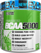 Evlution Nutrition BCAA 5000 Lemon Lime 30 Servings