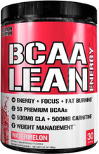 Evlution Nutrition BCAA Lean Energy, Watermelon, 30 Servings