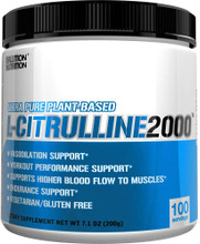 Evlution Nutrition L-Citrulline 2000, 100 Servings