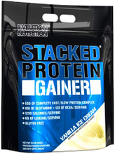 Evlution Nutrition Stacked Protein Gainer Vanilla Ice Cream, 12 LB