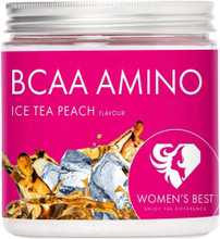 Women's Best BCAA Amino Ice Tea - Peach Flavour (200g)